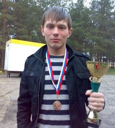 Виталий Карасёв времён первого появления в «Волне-ФФК»